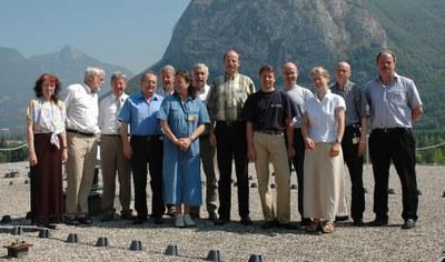 Mitglieder des 6. KFN in Grenoble, 2005