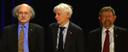 David J. Thouless, F. Duncan M. Haldane und J. Michael Kosterlitz