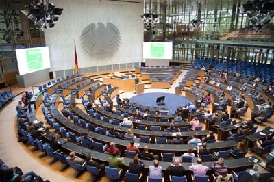 Plenarsaal bei der SNI2014