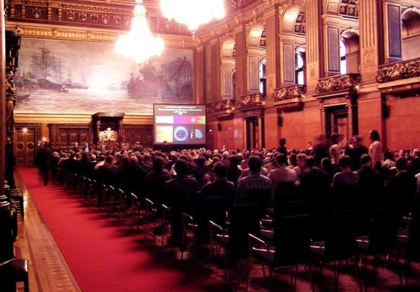 Senatsempfang der SNI2006-Teilnehmer im Hamburger Rathaus