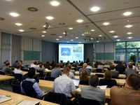 Prof. Dr. Alan Tennant's talk and participants if the DN2012 in Bonn